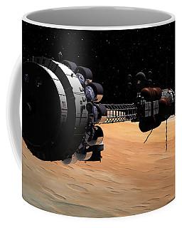 Uss Hermes 1 In Orbit Coffee Mug