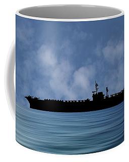 Uss Kitty Hawk 1955 V1 Coffee Mug