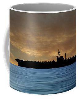 Uss Kitty Hawk 1955 V2 Coffee Mug