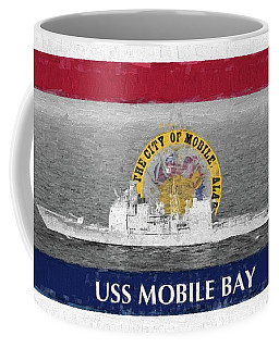 Uss Mobile Bay Coffee Mug by JC Findley