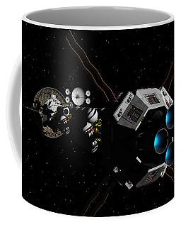 Uss Savannah In Deep Space Coffee Mug