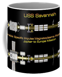 Uss Savannah Profile Coffee Mug