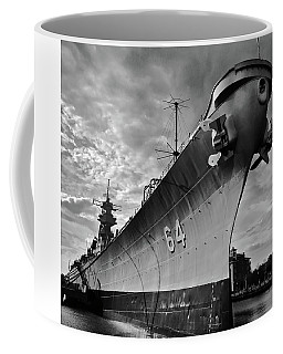 Uss Wisconsin Coffee Mug