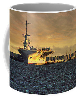 Uss Yorktown Cv10 Harbor Coffee Mug