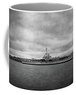 Coffee Mug featuring the photograph Uss Yorktown by Sandy Keeton