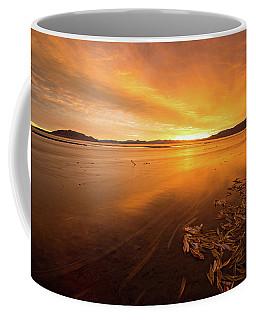 Utah Lake Sunset Coffee Mug