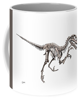 Utahraptor Coffee Mug
