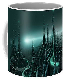 Utopia Coffee Mug by James Christopher Hill