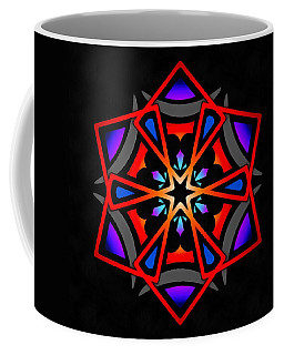 Coffee Mug featuring the digital art Utron Star by Derek Gedney