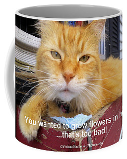 Coffee Mug featuring the photograph Utter Defiance by Viviana  Nadowski