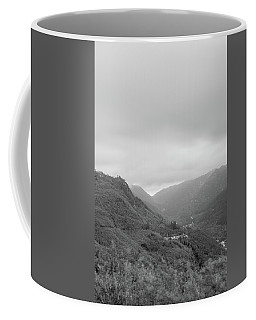 V For Vientoooooo Or Just The V On The Mountain Coffee Mug