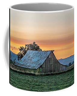 Coffee Mug featuring the photograph Vaca Barn by Bill Gallagher