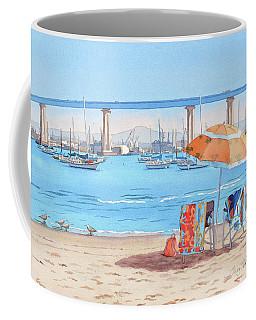 Vacation In Coronado California Coffee Mug