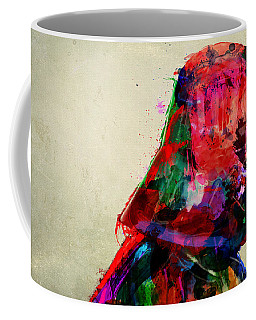 Vader In Color And Thought Coffee Mug