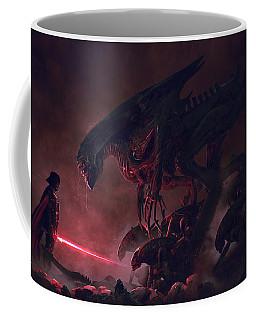 Vader Vs Aliens 4 Coffee Mug