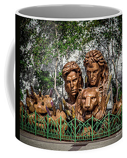 Vages Lion Coffee Mug by Perry Webster