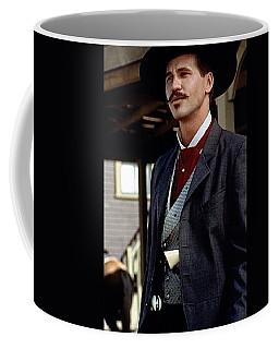 Val Kilmer As Doc Holliday Tombstone Set 1993-2015 Coffee Mug