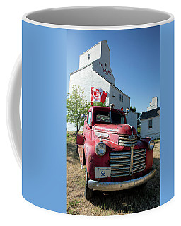 Coffee Mug featuring the photograph Val Marie, Sk by David Buhler