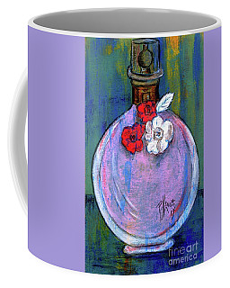 Coffee Mug featuring the painting Valentina by P J Lewis