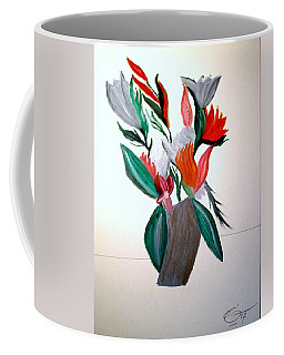 Coffee Mug featuring the painting Valentine By Bill O'connor by Bill OConnor