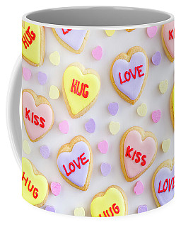 Valentine Heart Cookies Coffee Mug