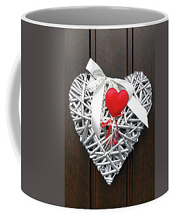 Coffee Mug featuring the photograph Valentine Heart by Juergen Weiss