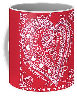 Valentine Heart Coffee Mug