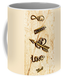 Valentine Pendants Coffee Mug