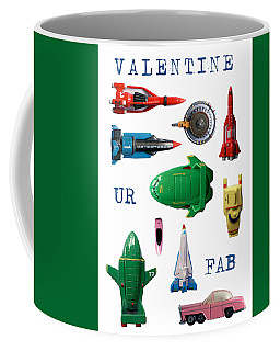 Coffee Mug featuring the photograph Valentine Ur Fab by John Colley