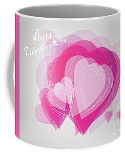 Valentines Day Heart Card Coffee Mug
