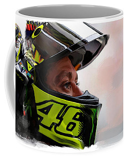 Valentino Rossi  The King Returns  Coffee Mug