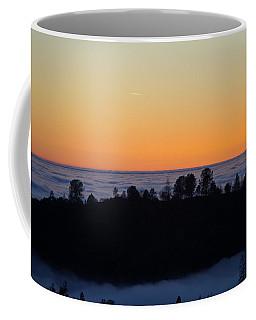 Valley Fog Sunset Coffee Mug