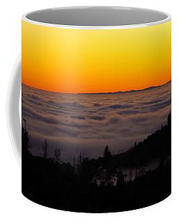 Valley Fog Twilight Coffee Mug