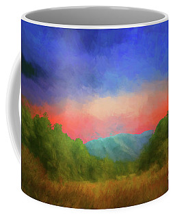 Valley In The Cove Coffee Mug by Geraldine DeBoer