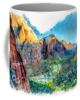 Valley Of Colours. Coffee Mug