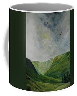 Valley Of Eagles Coffee Mug