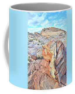 Valley Of Fire Alien Boulder Coffee Mug