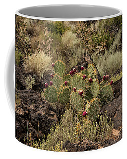 Valley Of Fire Prickly Pear Coffee Mug