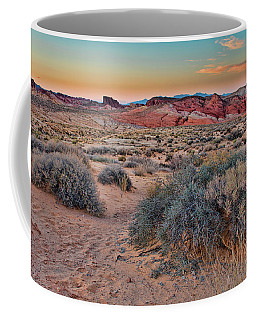 Valley Of Fire Sunset Coffee Mug