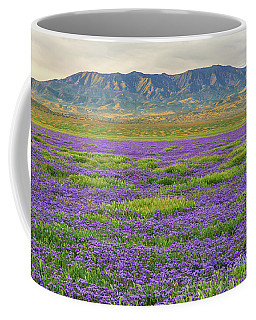 Valley Phacelia And Caliente Range Coffee Mug