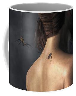 Vampire Spider Coffee Mug by Daniel Eskridge