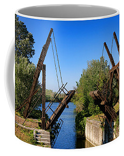 Coffee Mug featuring the photograph Van Gogh Bridge In Arles by Olivier Le Queinec