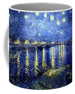 Van Gogh Starry Night Over The Rhone Coffee Mug