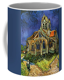Van Gogh The Church At Auvers Coffee Mug