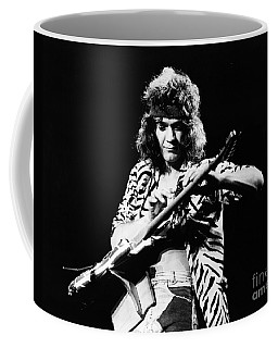 Eddie Van Halen  Coffee Mug by Chris Walter