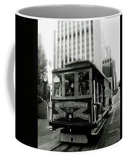 Van Ness And Market Cable Car- By Linda Woods Coffee Mug