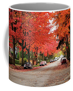 Vancouver Autumn In The City Coffee Mug
