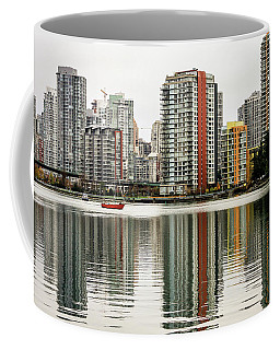 Vancouver Bc Sky Line Coffee Mug