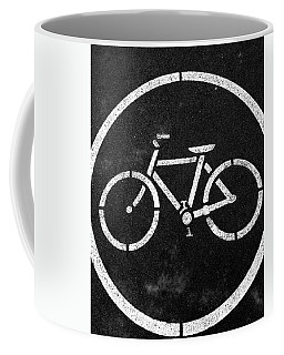 Vancouver Bike Lane- Art By Linda Woods Coffee Mug