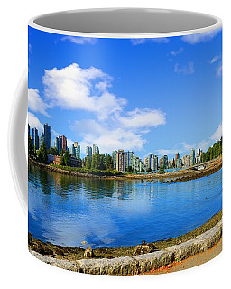 Coffee Mug featuring the photograph Vancouver Skyline  by Ola Allen